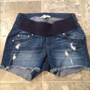 Jessica Simpson maternity destroyed shorts small